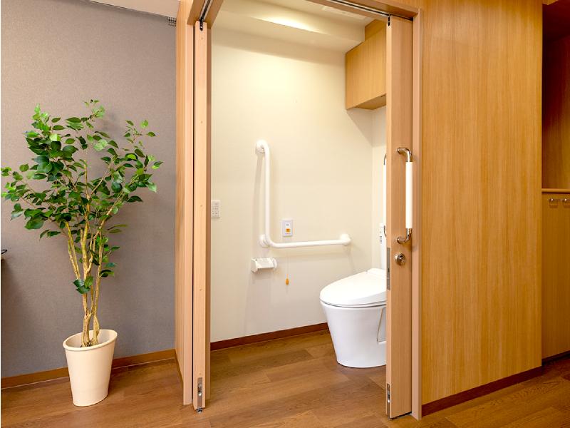 L型コーナートイレ